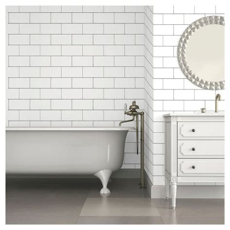 peel and stick wallpaper tiles color textured subway tile peel stick wallpaper
