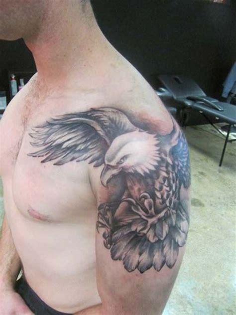 eagle tattoo kartal die besten 25 eagle shoulder tattoo ideen auf pinterest