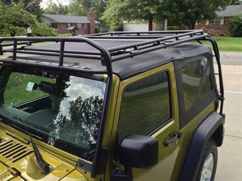 wrangler hard top roof rack sell used 2007 jeep wrangler rubicon 2dr hard soft top with gobi roof rack in siloam