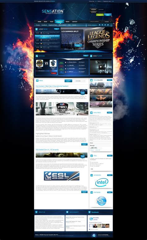 layout cms free kit gaming shop themes templates webspell design