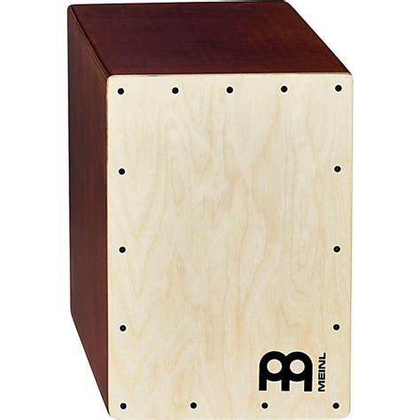 cajon cymbal meinl jam cajon light brown musician s friend