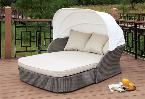Furniture Of America Os2107 Outdoor Patio Canopy Daybed Patio Furniture Daybed