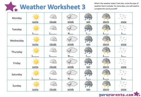 weather pattern activities all worksheets 187 kinds of weather worksheets for