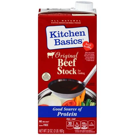 Kitchen Basics Cooking Stock Kitchen Basics Original Beef Cooking Stock From Stater