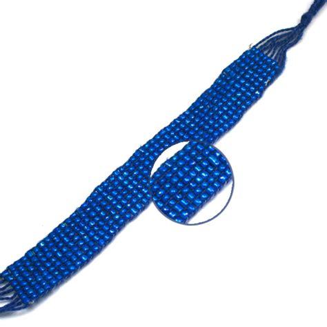 woven beaded bracelet blue woven beaded bracelet awarenessdepot