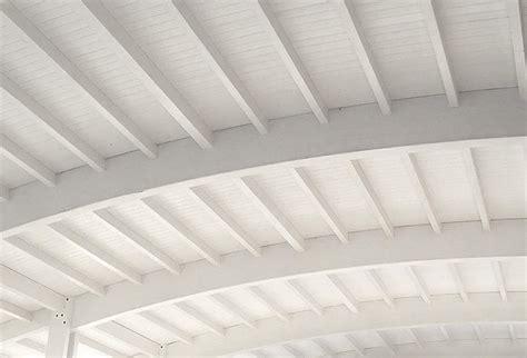 controsoffitti in legno bianco great in legno with tetto in legno bianco