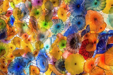 fiori di murano fiori di como murano glass ceiling in the bellagio