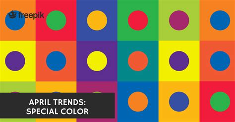 what color is april april 2016 trends review special color freepik blog