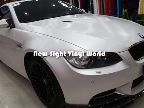white pattern vinyl wrap aliexpress com buy premium matte satin chrome white