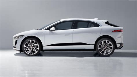 white jaguar car wallpaper hd white sedan jaguar i pace electric car 4k hd wallpaper