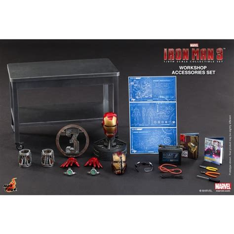 Toys 16 Iron 3 Workshop Accesories Set toys 1 6th scale iron 3 workshop accessories collectible set garden and toywiz