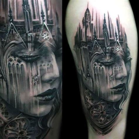 Cool Black And Gray Tattoo Art Cool Black And Gray Tattoos