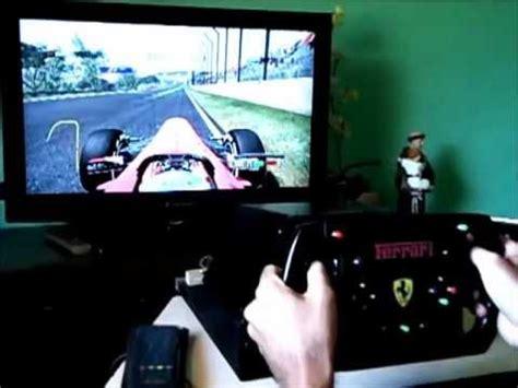 volante f1 xbox 360 teste volante caseiro para xbox 360 ou pc usb f1 2011