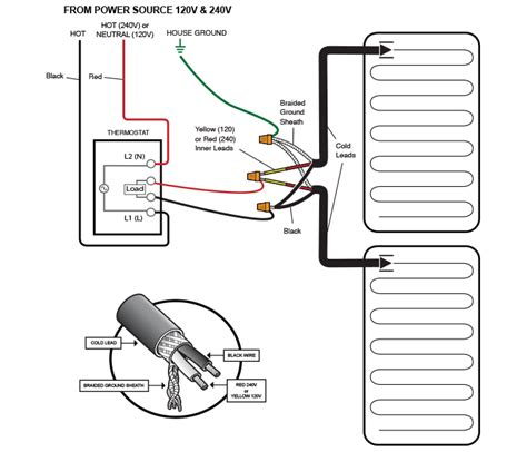 wiring diagram for 240 volt thermostat wiring wiring