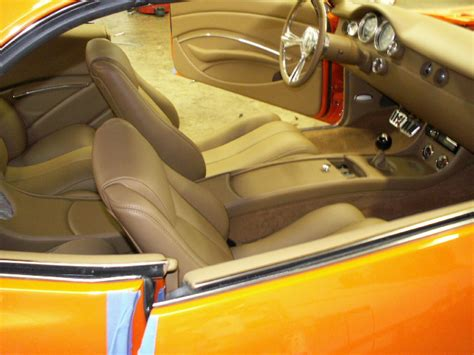 Interior Upholstery by Whidby S 1969 Camaro Custom Leather Interior