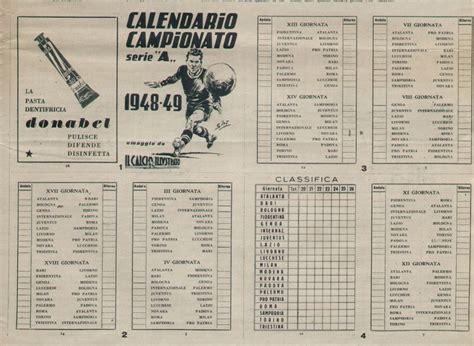 Calendario De 1948 Album Della Stagione