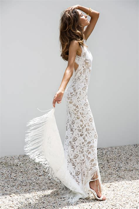 White Wedding Dress Bible by Grace Lace Bohemian Wedding Gowns Made In Australia