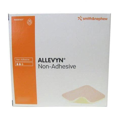 Allevyn Non Adhesive 10 Cm 20 Cm Foam Dressing allevyn non adhesive wound dressing 10cm x 20cm 10 allevyn front door pharmacy