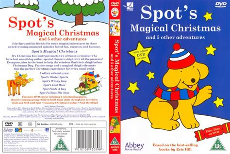 spots first christmas spots magical christmas movie dvd scanned covers 1863spot magical christmas dvd covers