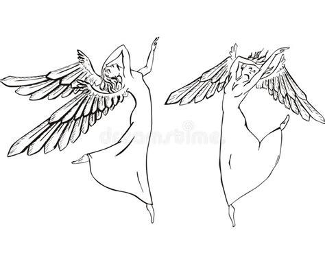 clipart angeli angeli di illustrazione vettoriale illustrazione