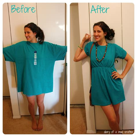 How To Make A T Shirt Out Of Paper - t shirt remodel a tutorial diary of a mad crafter