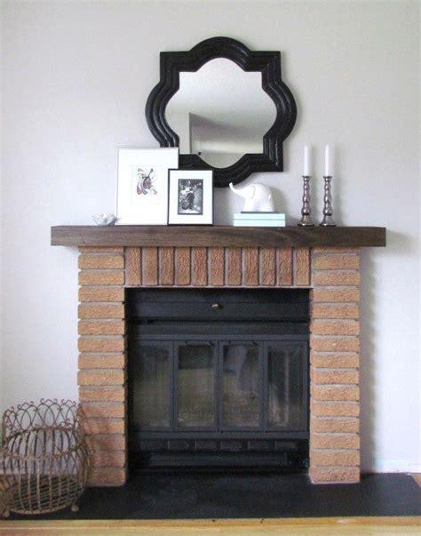 diy mantel shelf hometownloving fireplace mantel