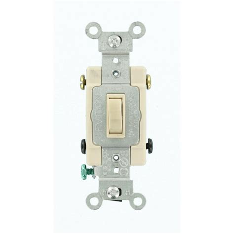 leviton decora 15 single pole dual switch light