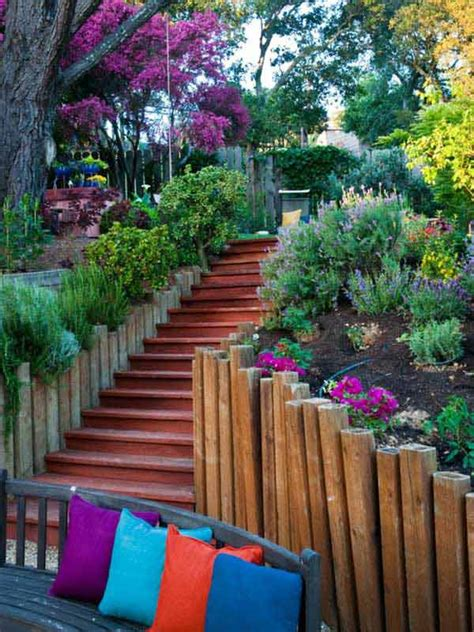 diy ideas   garden stairs  steps