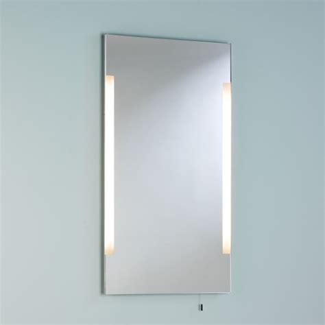 polished chrome bathroom mirrors astro imola 800 polished chrome bathroom mirror light at