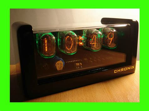 xin  nixie tubes clock led backlight  alarm