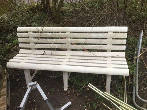 plastic benches for sale plastic garden bench for sale in uk view 58 bargains