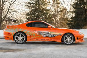 Fast And Furious Toyota Supra 1993 Toyota Supra From The Fast And The Furious Side