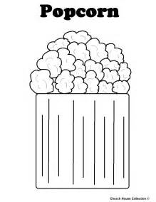 popcorn coloring pages free coloring pages of popcorn
