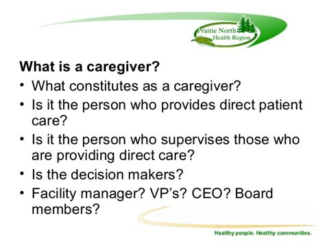 Direct Caregiver by Health Program For Term Care Residents