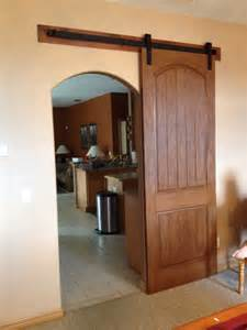 arched barn door home design ideas and pictures