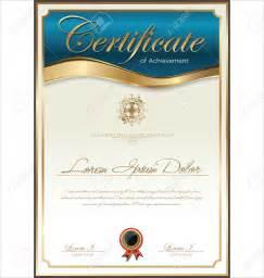 Certificate Template certificate template print stock vector diploma