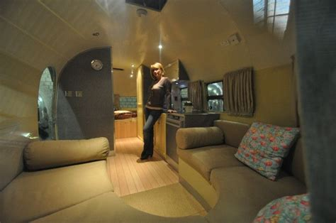 Camper Remodel Ideas by Interior Airstream Silver Streak Custom Custom Vintage