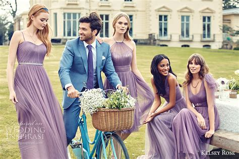 wisteria colored dresses kelsey 2016 bridesmaid dresses pink collection