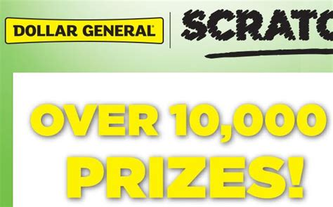 Win 10000 Dollars Instantly - dollar general instant win game over 10 000 prizes