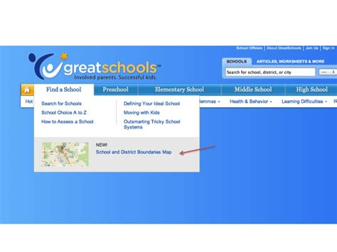 Search For School By Address 4 Steps Find School Boundaries Aligned To A Specific Address Town Advisor
