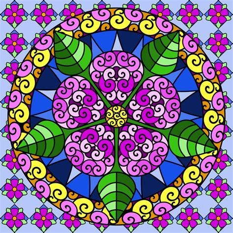 mandalas imagenes a color don t eat the paste mandalas coloring pages