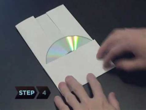 How To Make A Cd Cover Out Of Paper - how to make a cd or dvd out of a of paper