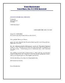 Beschwerdebrief Vermieter B 252 Ro Vorlagen Kostenlos Part 5