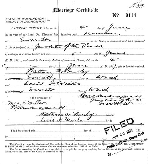 Cecil County Marriage Records Ida Annabell Serl