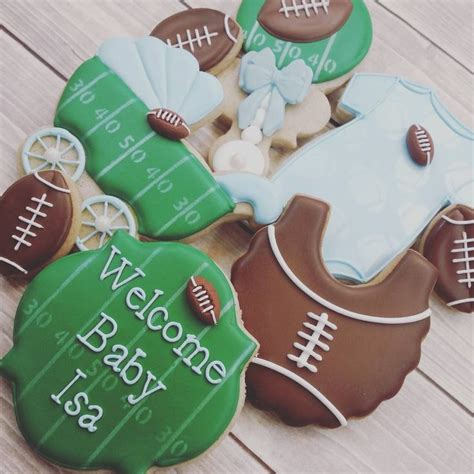 Baby Shower Football Theme by 313 Best Images About Baby Cookies On