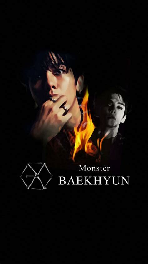 exo wallpaper livejournal wallpaper exo 2016 monster teaser baekhyun by