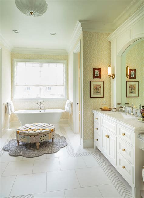 traditional bathroom wallpaper interior ideas to update your home in 2016 home bunch interior design ideas