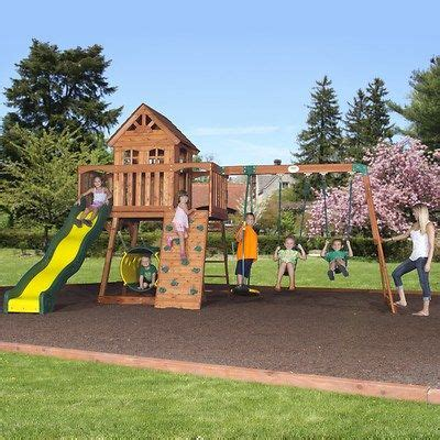 backyard discovery cedar view swing set 17 best images about swing sets on pinterest sam s club
