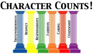 Character counts program and the six pillars of character education