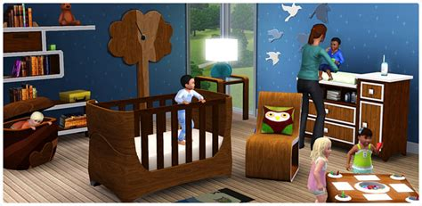 Complete Nursery Furniture Set Lullabies And Nursery Rhymes The Sims 3